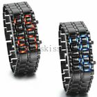 Luxury Men's Wrist Watch Stainless Steel Date Digital LED Bracelet Sports Watch
