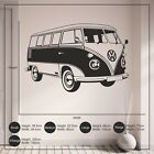 VW Camper Van Living Room Bedroom Children's Bedroom Vinyl Wall Sticker Decal