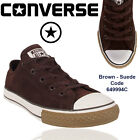 CONVERSE SUEDE BROWN  ALL STARS CHUCK TAYLORS SNEAKERS TRAINERS SHOES SIZE 11-2