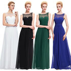 New Arrival Long Evening Bridesmaid Dress Long Gown Party Prom Chiffon Size 4-18