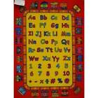 New Children's Rug Activity Play Mat ABC Trains 94cm x 133cm