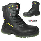MENS SAFETY NON METAL TOE CAP BOOTS SECURITY ARMY MILITARY SHOES