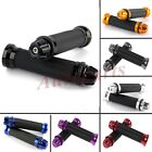 "Motorcycle CNC Aluminum Rubber Gel Hand Grips for 7/8"" Handle Bar Bike Bicycle"