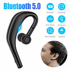 Wireless Bluetooth 5.0 Headset Stereo Earpiece Driving Trucker Earphone Earbuds