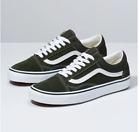 Vans Old Skool FOREST NIGHT/TRUE WHITE Skateboarding Shoes Classic Fast shipping