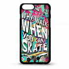 Skater quote phrase skateboard Spray Paint graffiti street art phone case cover