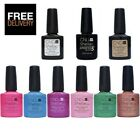 Choose from Any New CND Shellac ART VANDAL Colour, Base Coat or Top Coat