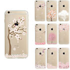 Hot Sakura Transparent TPU Gel Silicone Soft Case Cover For iPhone 6s 6 6 PLUS
