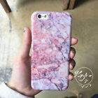 New luxury pink crystal marble granite Soft Case Cover for iPhone X 8 7 6S plus