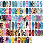 Nail Art Water Transfer Wraps Stickers Polish Foils Decals Tips Colorful Decor