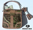 Mossy Oak Camo Messenger Bag with Extra Strap Pink or Beige