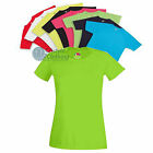 Ladies Sports Performance T-Shirt Plain or Personalised - Quick Dry