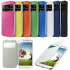 Flip PU Leather CASE Cover Smart Wake View For SAMSUNG GALAXY S4 i9500 Hot NS