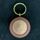 60th Birthday gift present 1956 Jarrah Penny Keyring other years available