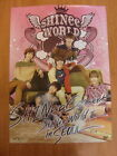 SHINee - SHINee World II Concert In Seoul [OFFICIAL] POSTER K-POP *NEW*