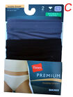 "Hanes Women's Panties BIKINIS 2-Pack NB42AS TAGLESS ""Microfiber"" PREMIUM"