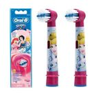 Braun Oral-B Kids Power Disney Princess Brush Heads Pack of 2 Heads