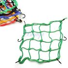 Motorbike Motorcycle Cargo 6 Hooks Hold Down Net Bungee 5 Colors