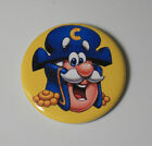 FUN CEREAL PIN BUTTON Retro Quisp Booberry Frosted Flakes Spock Vintage Food Art