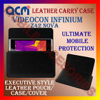 ACM-HORIZONTAL LEATHER CARRY CASE for VIDEOCON INFINIUM Z42 NOVA POUCH COVER NEW