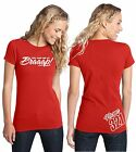 YOU HAD ME AT BRAAAP! SHIRT NUMBER PLATE WOMEN MOTOCROSS MOTO SLED RED CR CRF