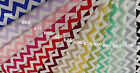 100%  Cotton Chevron pattern, HIGH QUALITY