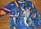 Star Wars Long Light Weight Sweatshirt Character Top Official Licensed Luke Leia $21.16 CAD
