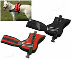 Dog Harness Chest Vest Adjustable Support Pet Dog Control Harness Red/Black L