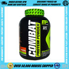 MUSCLE PHARM COMBAT 2LBS PROTEIN POWDER WPI WPC BLEND SUSTAINED RELEASE UFC