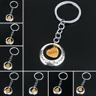 Love You To The Moon And Back Heart Key Chains Ring Keyring Gift For Family Gift
