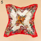 Women Satin Scarf Square Large Headband Kerchief Luxury Wrap Bandana 35'' x35''