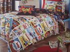 Catherine Lansfield Comic Strip Duvet cover bed Set New
