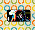 My Little Pony Neon Color Poster Case For iPhone iPad Samsung Galaxy Cover 408
