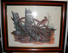 Rare Bill Wesling Print Artist Proof Quail Signed 2 1972 $230 OFF Florida Artist