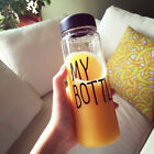 2016 500ML Clear My Bottle Sport Fruit Juice Water Cup Portable Travel Bottle