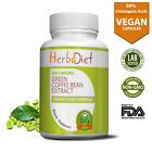 PURE Green Coffee Bean Diet 50% Extract Capsules Weight Loss Fat Burner Detox