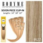 Bohyme 7 Piece Clip-in Hair Extension Color BL22