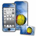 Skin / Decal for iPhone 5/5S with Flag of Guinea - Many Designs