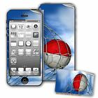 Skin / Decal for iPhone 5/5S with Flag of Monaco - Many Designs