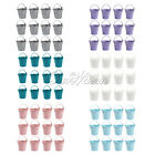 12x Mini Lolly Metal Bucket Wedding Decor Candy Favours Boxes Pails Party Gifts