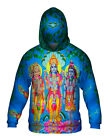 "Yizzam - Indian Art - ""Hindu Gods and Goddesses""- New Mens Hoodie Sweater"