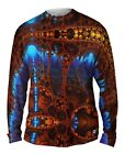 Yizzam- Infinity Future Fractal - New Mens Long Sleeve Tee Shirt XS S M L XL 2X