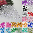 3 4.5 6 10MM Wedding Party SCATTER Table Crystals Diamonds Acrylic Confetti