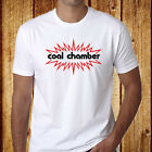 Coal Chamber Metal Rock Band Logo Men's White T-Shirt Size S-3XL Free Shipping