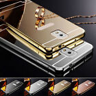 Funda Carcasa Luxury Aluminum Bumper Mirror Espejo para Samsung Galaxy Phones segunda mano  China