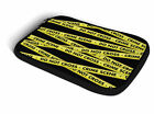 Crime Scene Tape Ipad Neoprene Zipper Case Fits Apple Ipad 2 3 4 Air 1 2 Mini 1