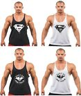 MENS MMA GYM VEST BODYBUILDING MUSCLE STRINGER VEST AND MUSCLE GYM T-SHIRT