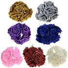 10x Artificial Fake Foam Rose Flowers Bridal Wedding Bouquet Bunch Decor MSYG