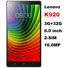 Lenovo K920 VIBE Z2 Pro 4G LTE Smartphone Android 4.4 16.0MP 3GB+32GB