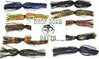 Bass Jig Skirts First Quality Silicon - Free Ship - 10 Colors - Qty 5, 10 or 20